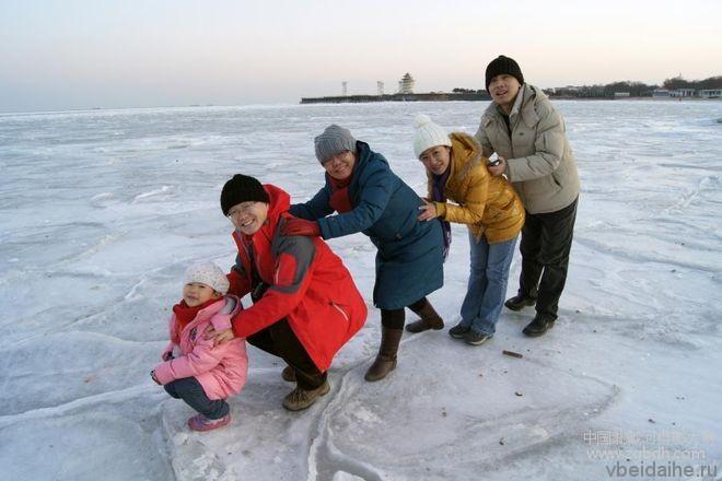 Бэйдайхэ зимой