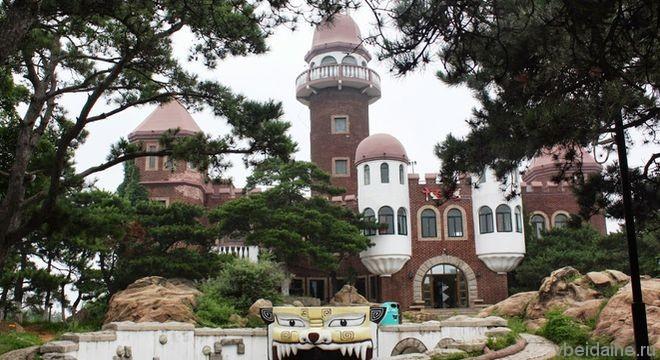 Волшебный Дворец в Парке Фонарей – сказочное место Бэйдайхэ